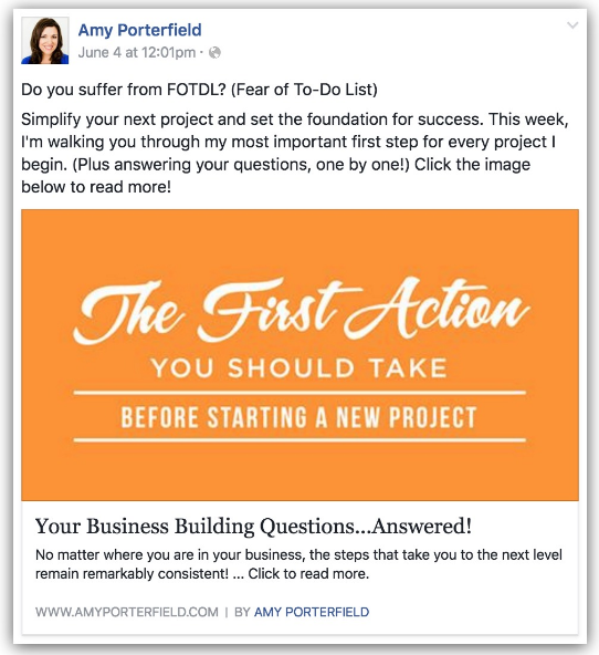 facebook pages business ad